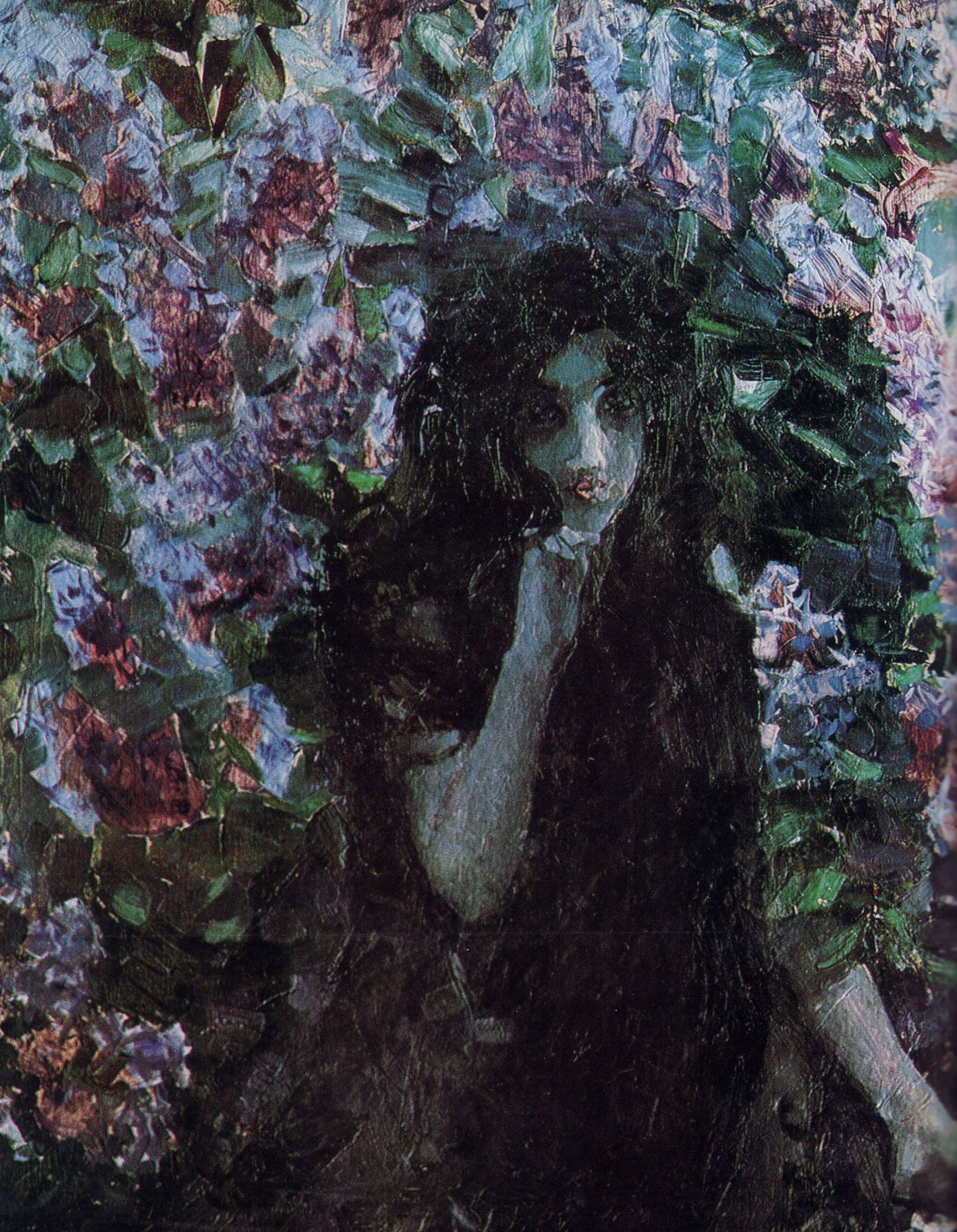 M. A. Vrubel, Lilac: analysis and description of the painting