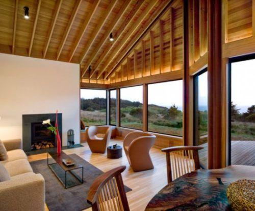 Hermosa Casa De Madera Casas De Madera Casas Estilo Rancho Diseno Para El Hogar