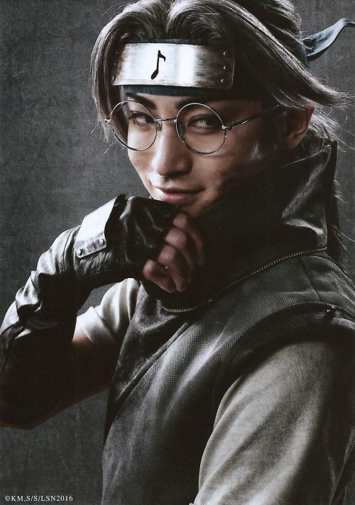 Tatsunari Kimura as Kabuto Yakushi Live Spectacle Naruto - 2016