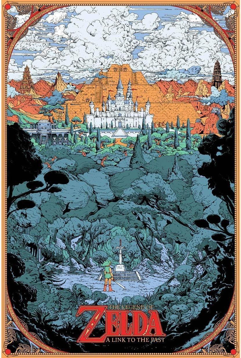 Incredible A Link To The Past Art By Kilian Eng Visit Blazezelda Tumblr Com Zelda Art Legend Of Zelda Game Art