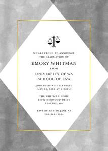 law school graduation invite guests to a graduation celebration with beautiful graduation invitation templates designed by you