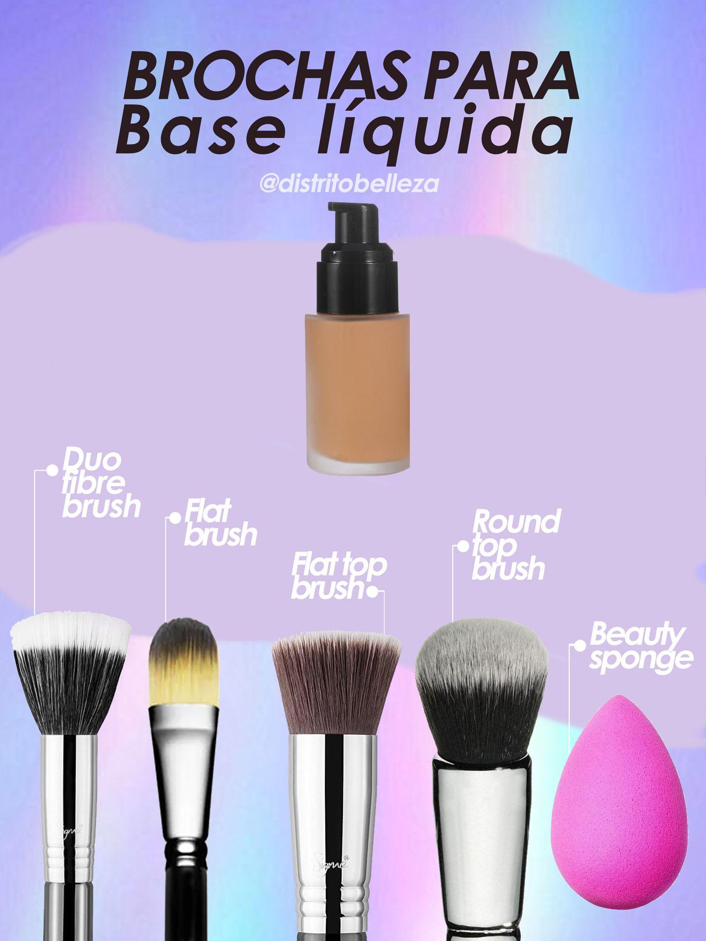 Photo of Brochas de maquillaje para base líquida
