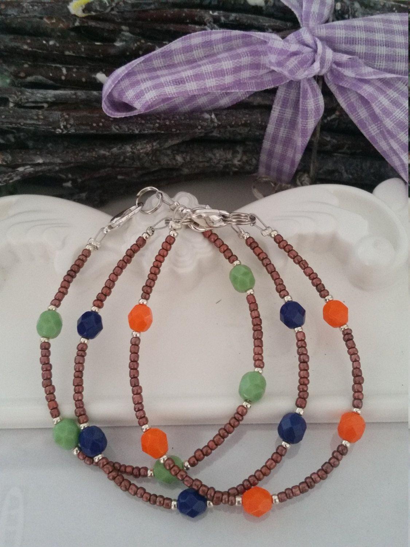 Bracelets Minimal Handmade Jewelry Hippie Bohemian Style di ButterflyLabShop su…