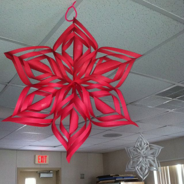 Snowflakes- I Have The Directions. Easy But Little Time