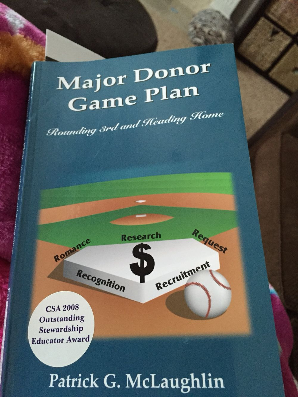 Great book for donor relations