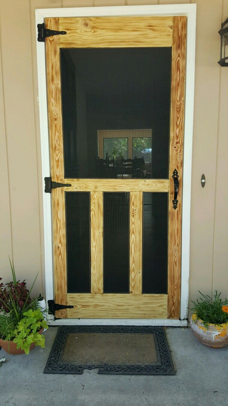 Another Pallet Screen Door Lighter Burn Pallet Projects