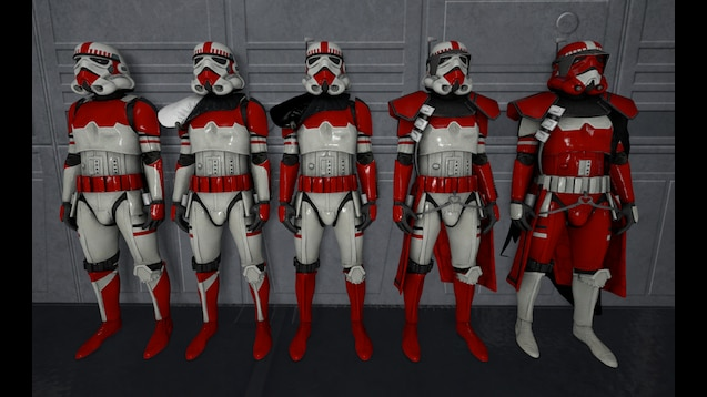 Steam Workshop Zephyr Imperial Shock Troopers Star Wars Trooper Star Wars Clone Wars Trooper