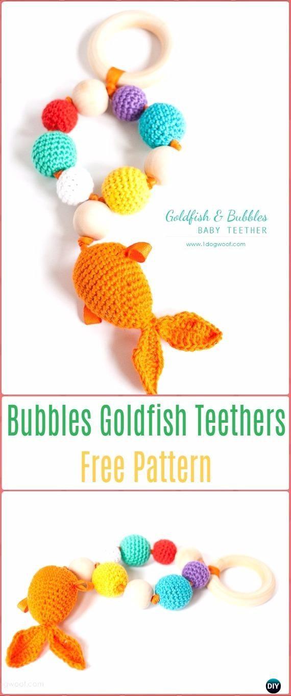 Crochet Bubbles & Goldfish Teether Free Pattern - Crochet Baby ...