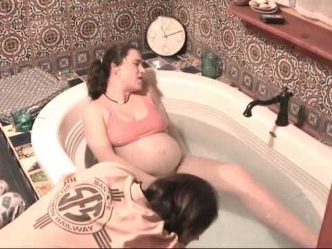 Undisturbed Unassisted Laboring in tub | Birth Videos | Pinterest ...
