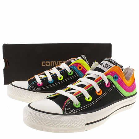 Women's Multi Converse Cons All Star Ox Iii Tri Flow at