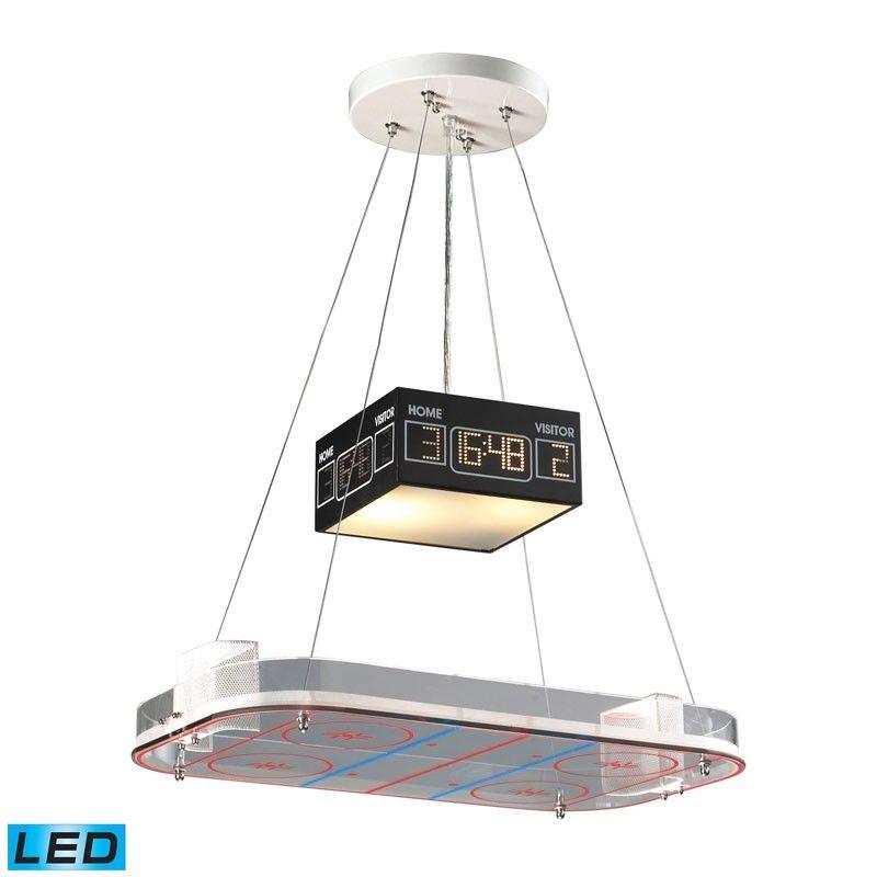 whimsical lighting fixtures. Elk Lighting 5138/2-LED Novelty 2 Light LED Hockey Pendant Whimsical Fixtures