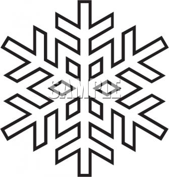 Black Snowflake Clipart Snowflake Black And Whiteblack And White Snowflake Clipart Clip Art Free Clip Art