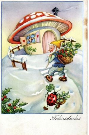 Pin Olga Rose Vintage Christmas