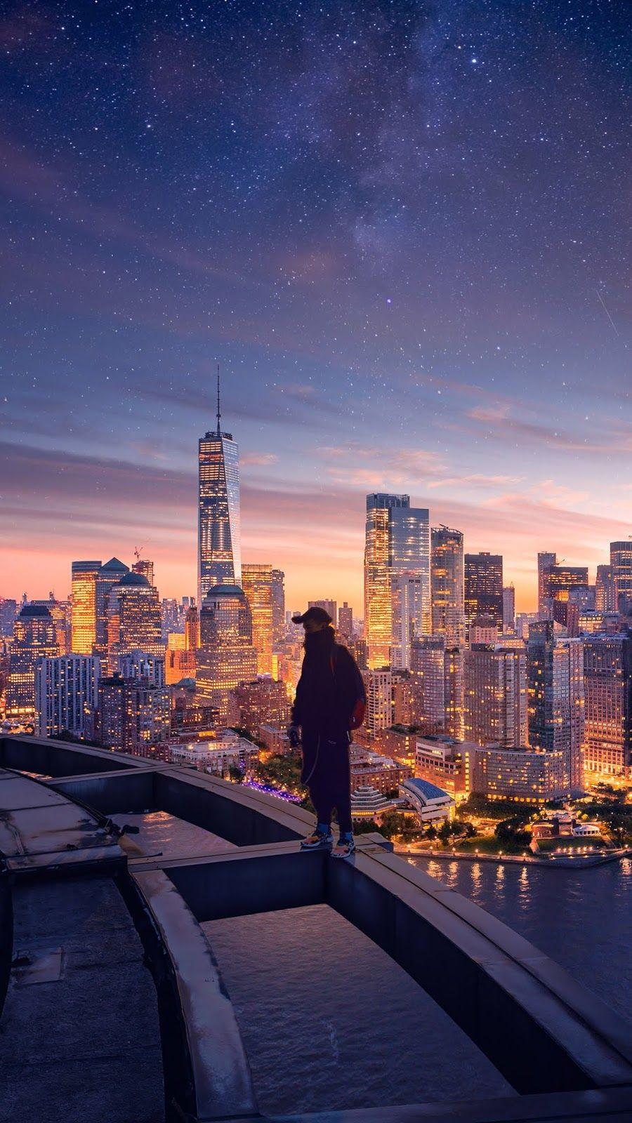 New York City Langit Seni Dan Inspirasi