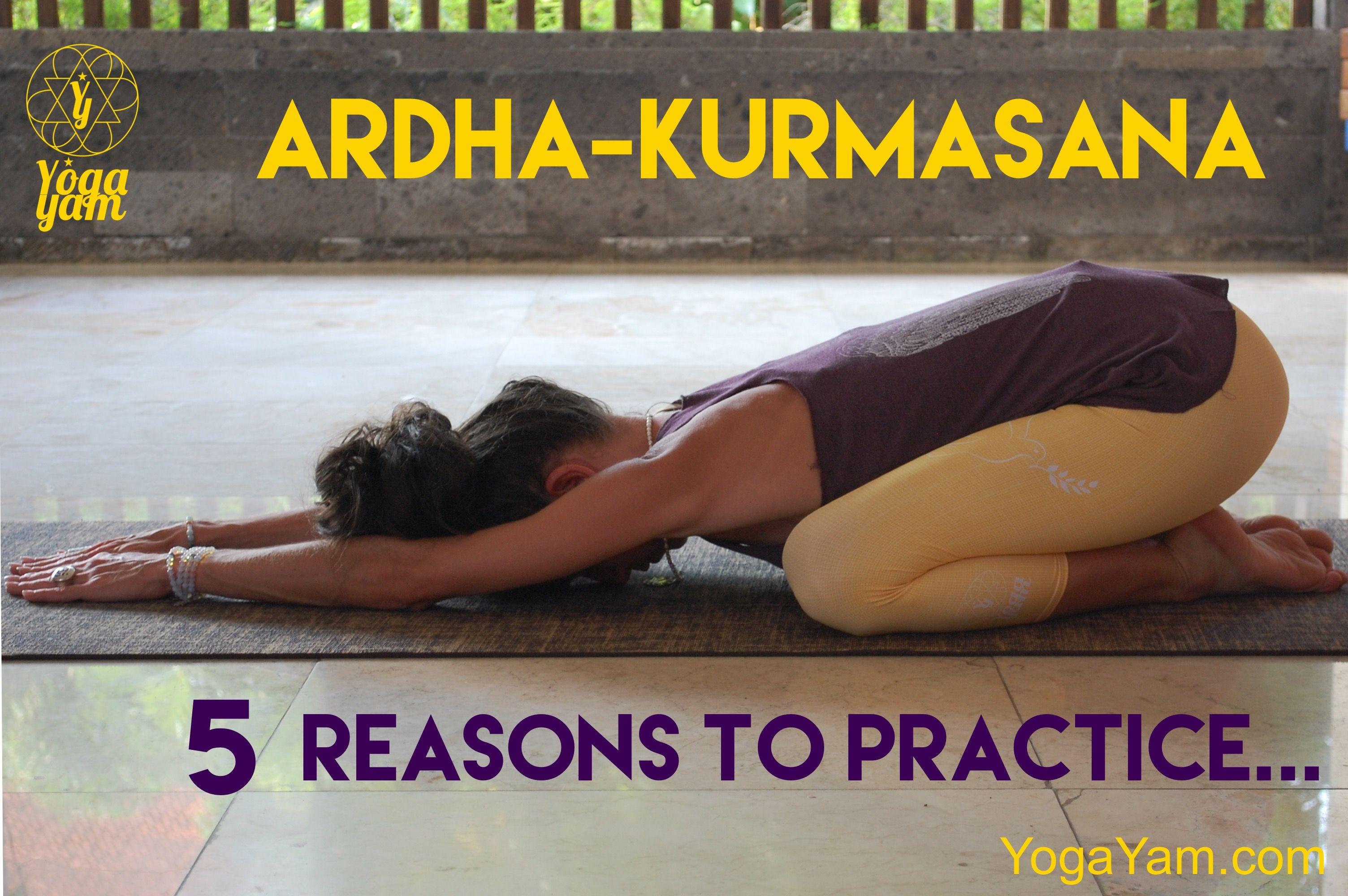 Kurmasana Pose Benefits