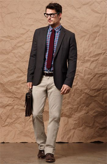 cb546241c HUGO 'Arbone' Wool Sportcoat | Nordstrom Business Casual Men, Sport Coat,  Dress