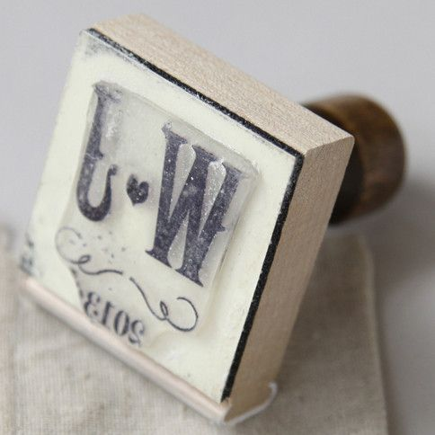Photo of Weinberg personalisierte Stempel