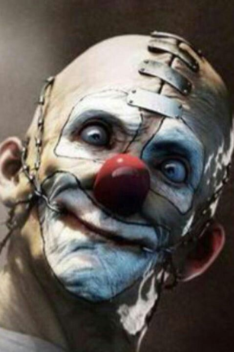 Metal clown