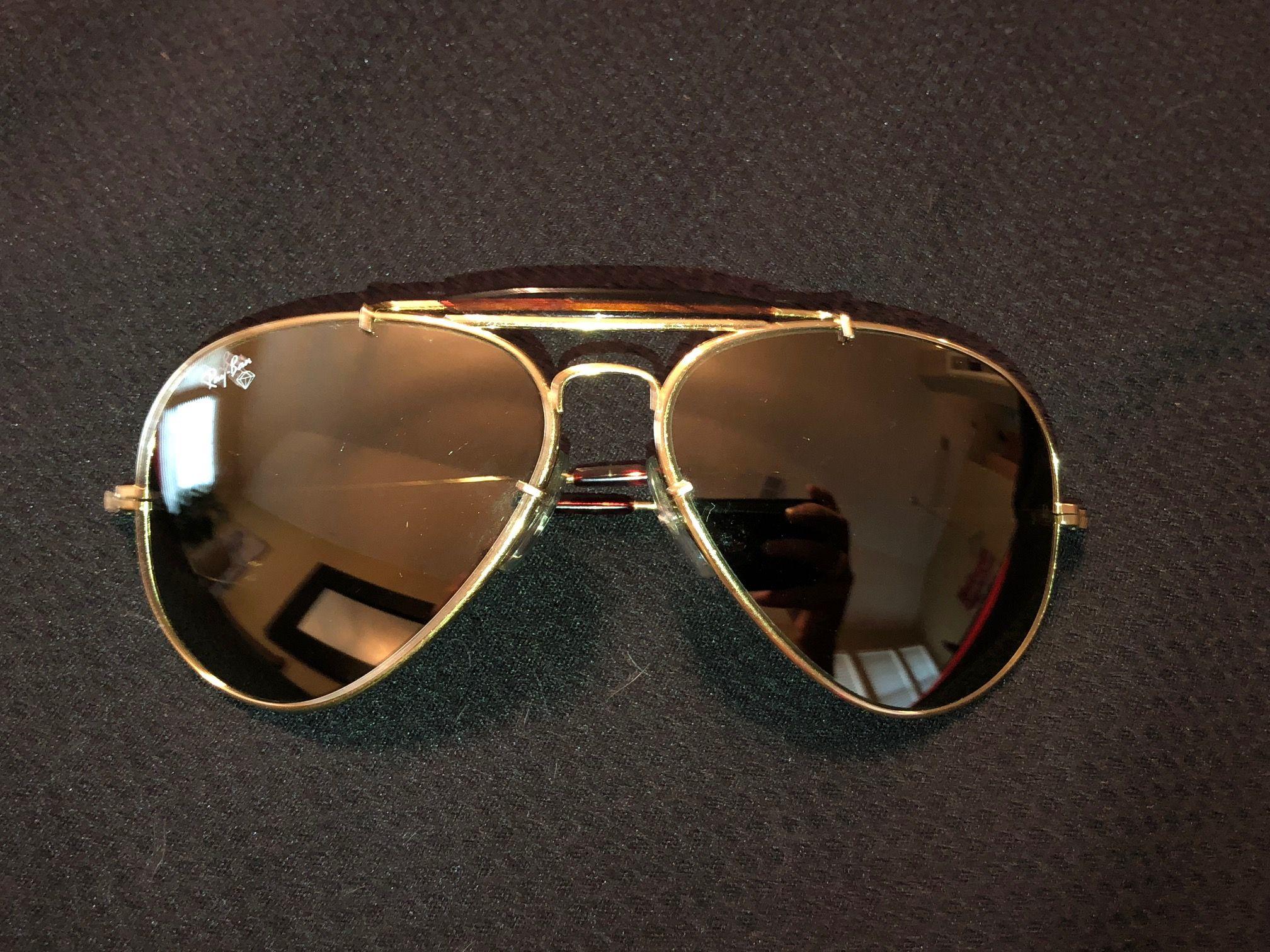ray ban aviator diamond sunglasses