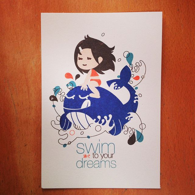 swim to your dreams - 4th layer