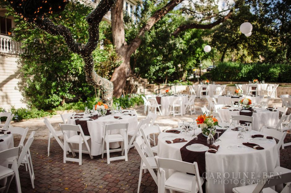 Fall Wedding Outdoor Tablescapes At Allan House Wedding Venue In