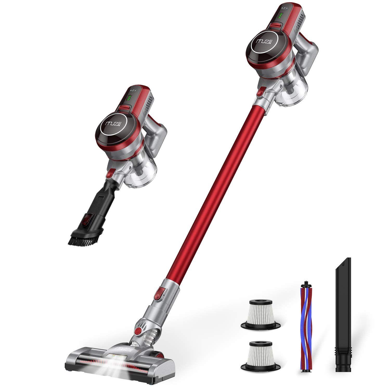 Muzili Lightweight Cordless Vacuum Cleaner Review Dog