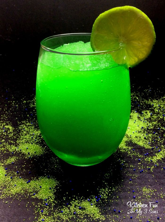 Hulk Cocktail - Kitchen Fun With My 3 Sons   Mixed drinks ...