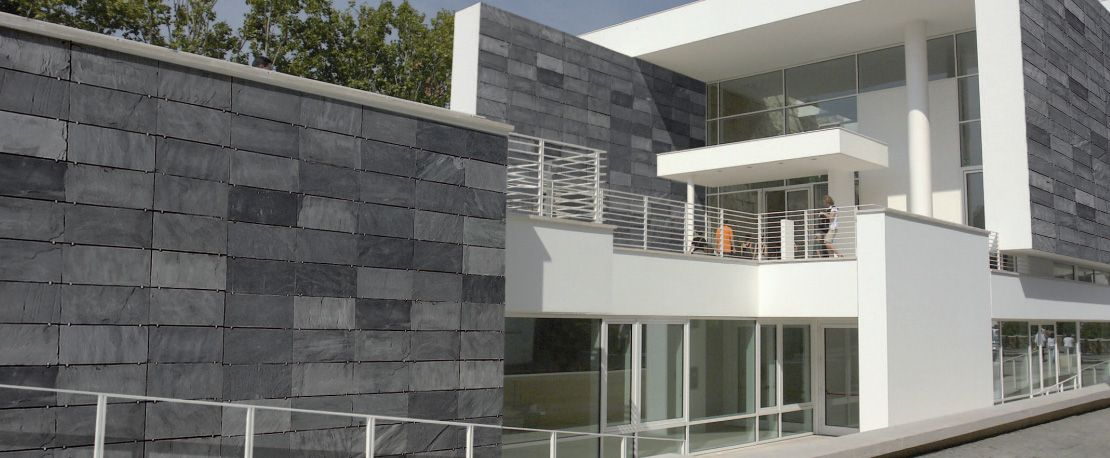 Fachadas piedra natural mill n chiclana aplacados de - Fachada de piedra natural ...