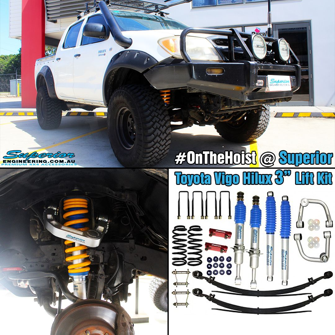 Superior Nitro Gas 3 Inch Lift Kit Suitable For Toyota