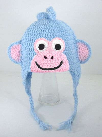 Boots Monkey Earflap Hat from Dora the Explorer