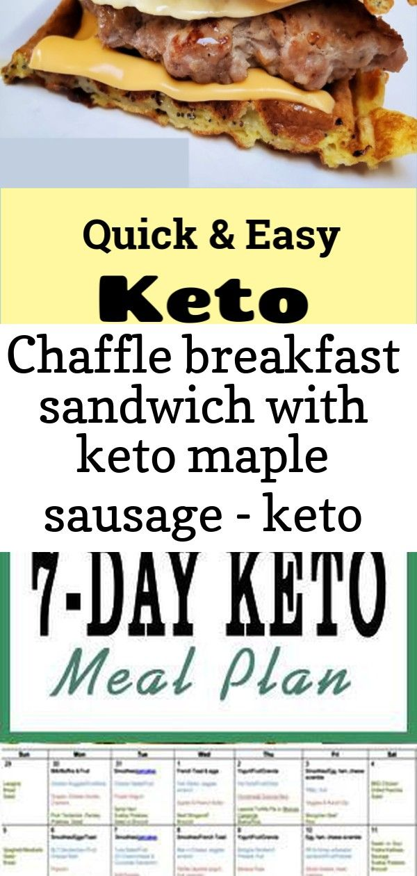 Chaffle breakfast sandwich with keto maple sausage - keto chaffle recipe #chaffles #chaffle #ketob 1 #athletenutrition