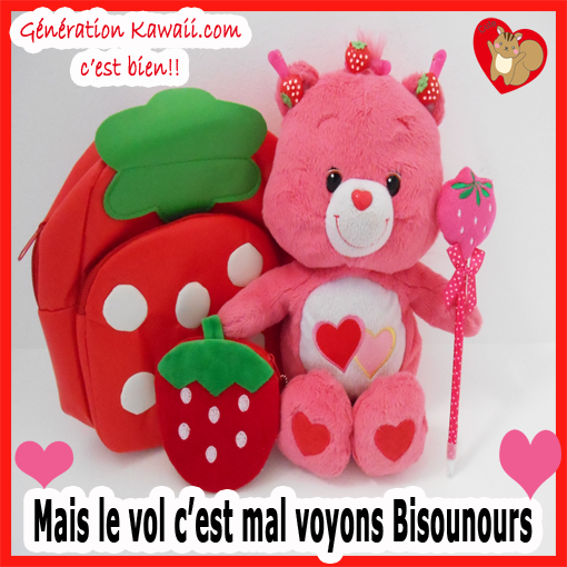 Care Bears stop stealing us please ^^ Bisounours arrête de voler on te dit! Le vol c'es mal ^^
