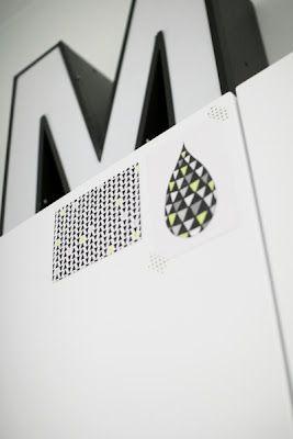 Via Aniliini | Letter M | Black and White | Typography