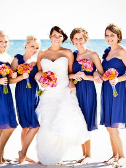 Dark Blue Bridesmaid Dresses For 2017 Beach Wedding Navy Gowns Ww Dreamyweddingideas