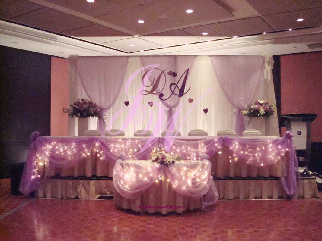 Twinkle Lighting Decoration for Weddings Receptions