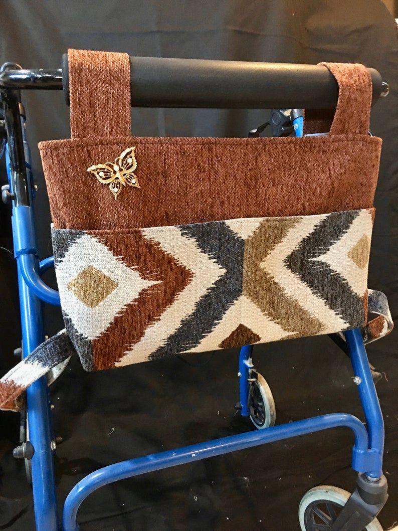Elegant walker bag rollator gift for grandma nursing home