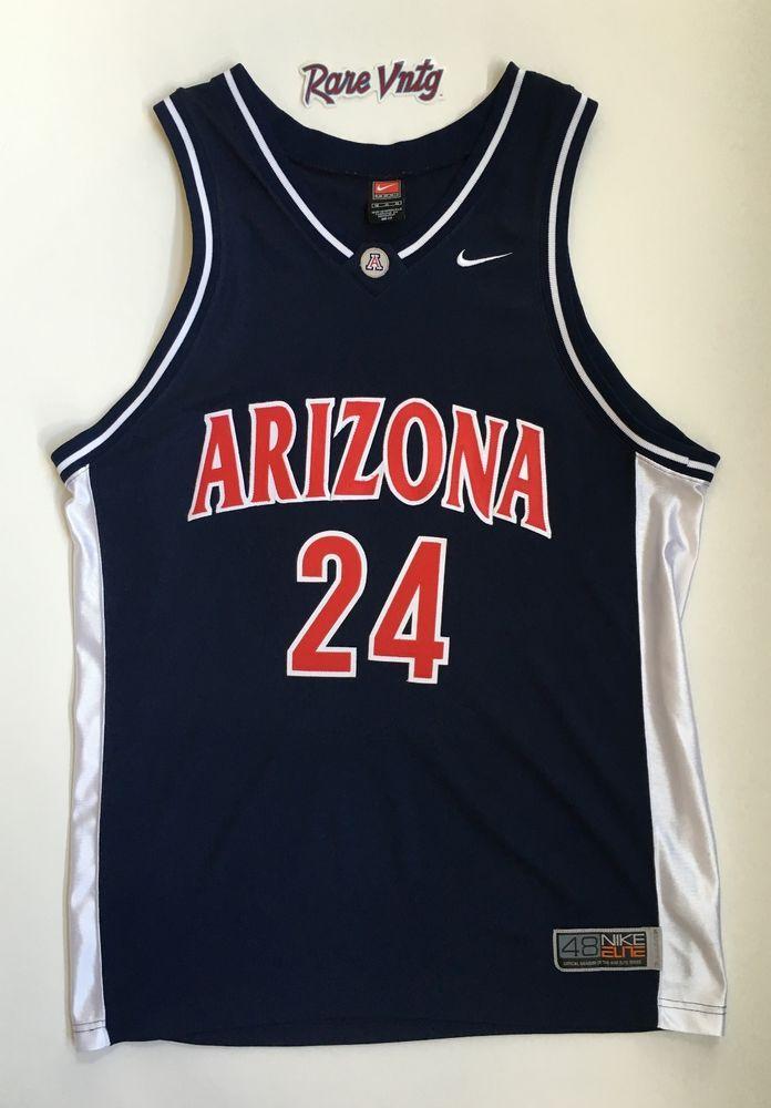 2003 Andre Iguodala U of Arizona Nike Authentic NCAA Jersey SZ 48 Warriors  #Nike #ArizonaWildcats