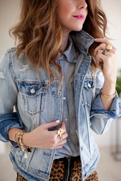 chambray + jean PROMISE TANGEMAN | photo by Janelle Marina