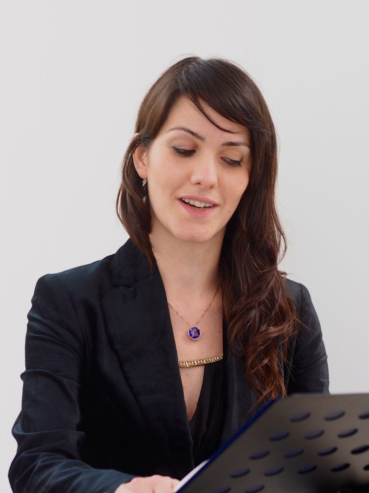 Baroque Ensemble - Nuoro, 3 gennaio 2016 - Valentina Satta, soprano - Ente Musicale di Nuoro
