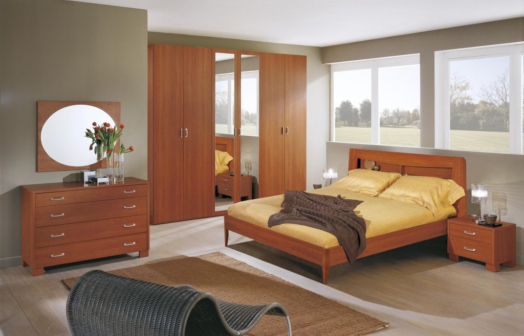 Zebra Wood Bedroom Furniture - Predesign
