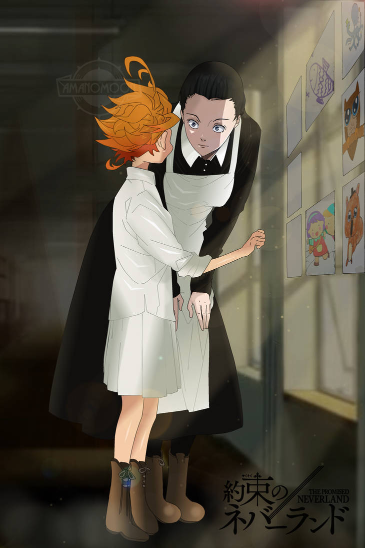 The Promised Neverland Anime Manga Color Mama Emma by