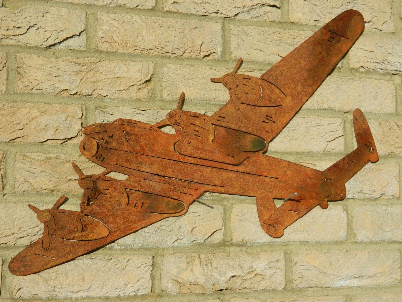 Lancaster Bomber Wall Art / WW2 Gift / WWii Lancaster Plane ...