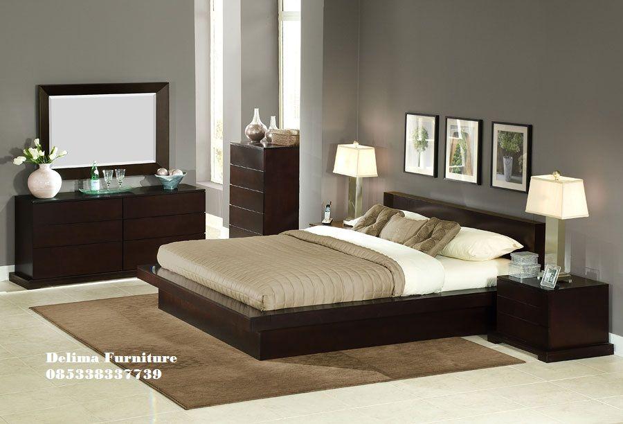 Kamar Tidur Minimalis Set Kayu Jati Jual Set Tempat Tidur