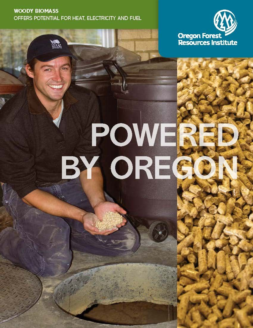 Powered by Oregon woody biomass offers potential for