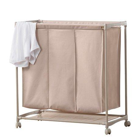 Neatfreak 3 Compartment Laundry Cart Laundry Hamper Laundry