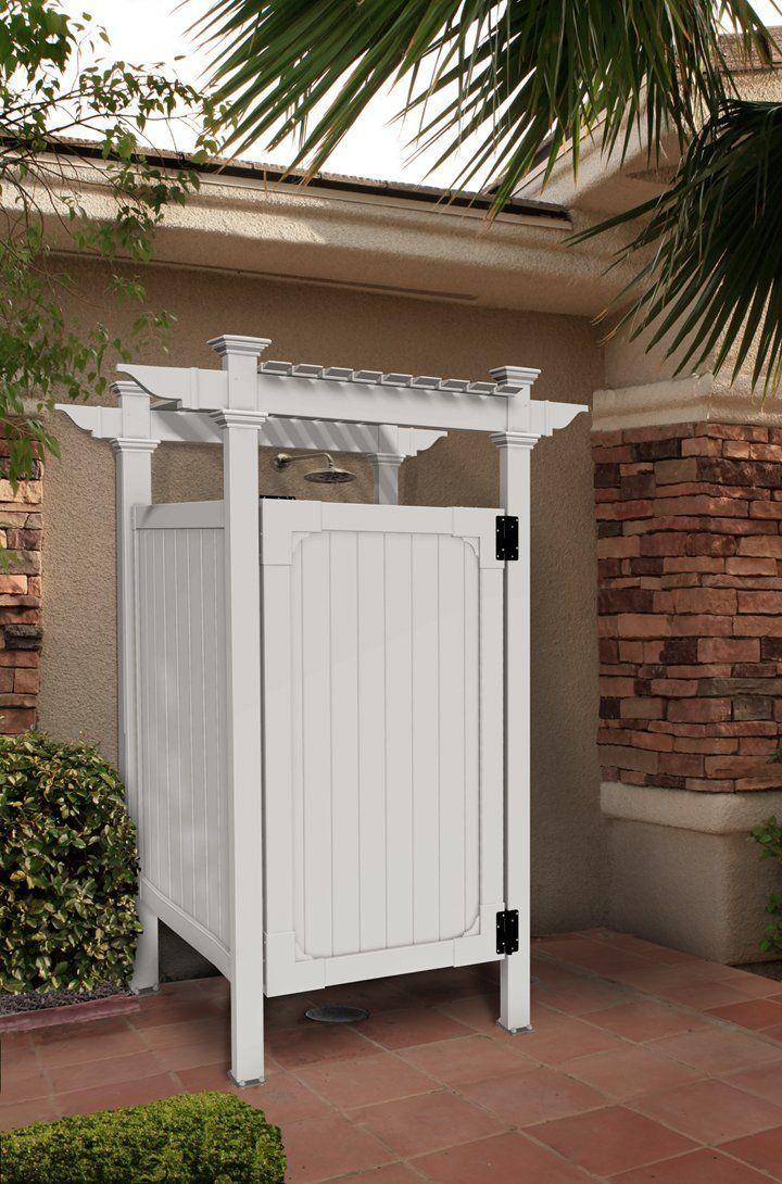 Outdoor Vinyl Shower Kit Bv Backyard Pinterest Shower Kits