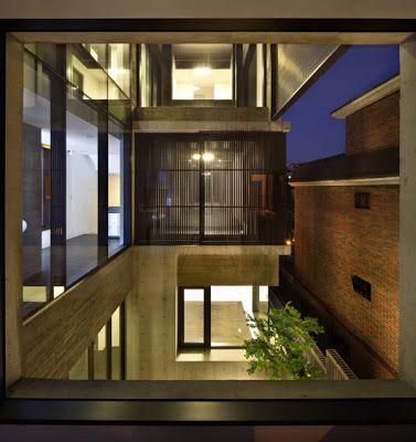 SolusiProperti H House Rumah Modern Di Korea