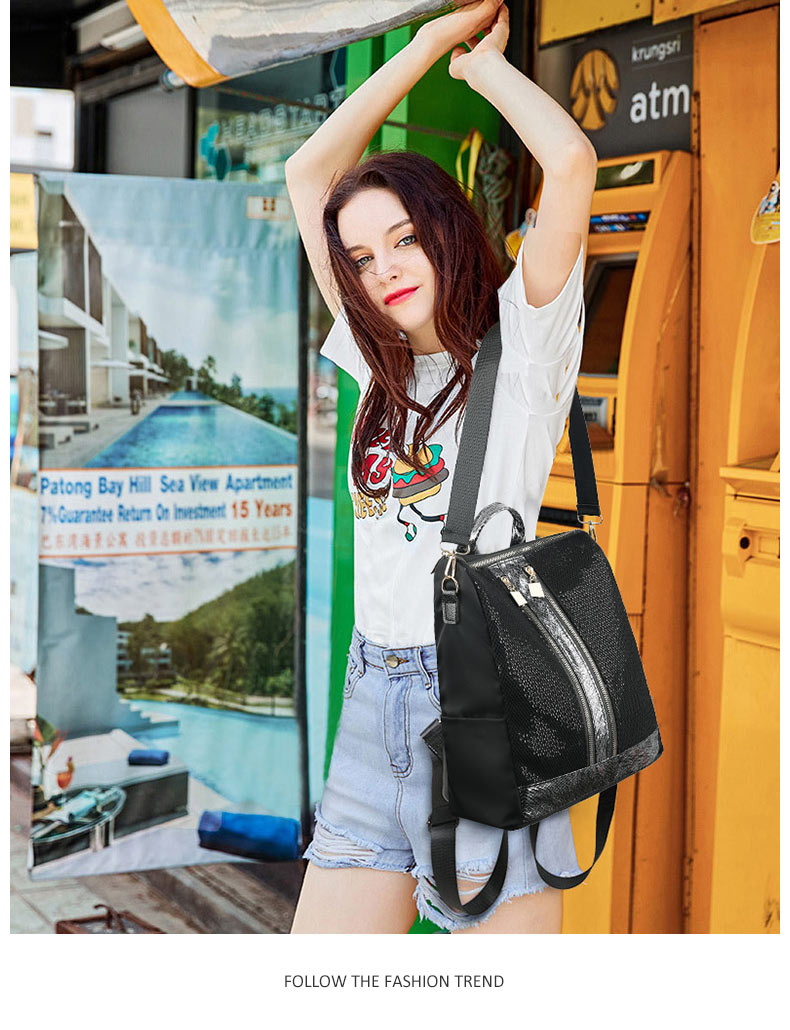 Travel Bag Large Capacity College School Backpack For Teenager Girls Shoulder Multi-function Bags