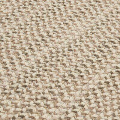 Highland Dunes Arvie Striped Handmade Flatweave Wool Brown Cream Moss Area Rug Braided Area Rugs Braided Wool Rug Area Rugs