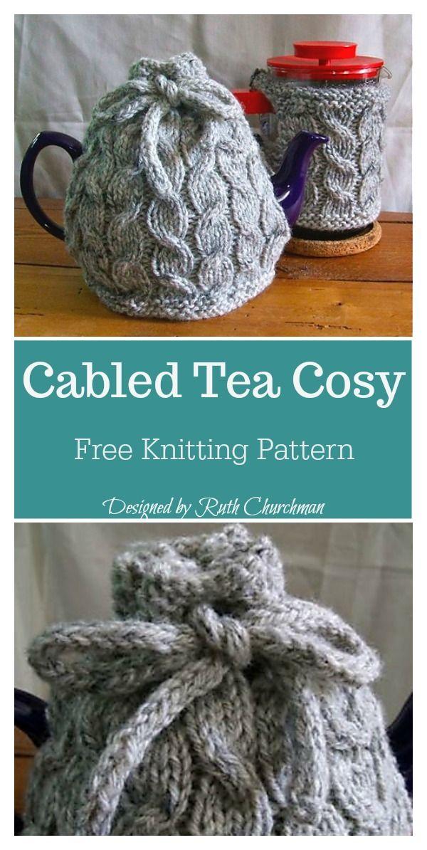 Tea Cozy Free Knitting Pattern Knitting Tea Cozies Pinterest